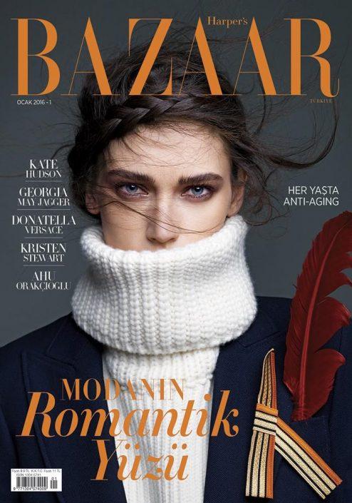 Bazaar Jan 2016 Cover